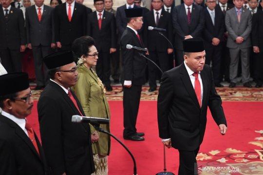 Presiden lantik sembilan komisioner Komisi Kejaksaan