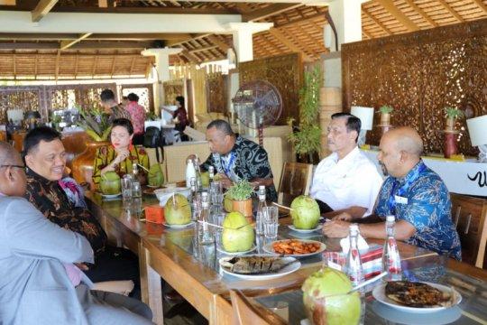Delegasi AIS-Menko Luhut kunjungi Pulau Bunaken