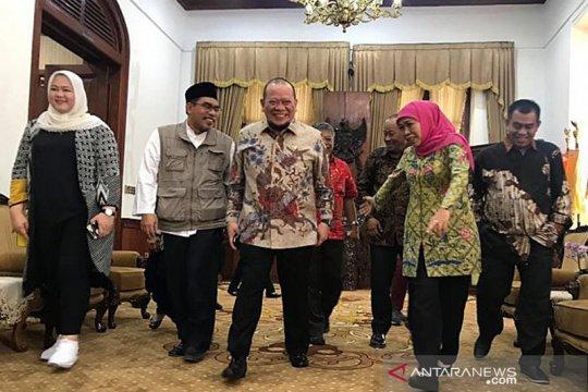 Ketua DPD RI berharap Gubernur Jatim hibahkan tanah untuk kantor