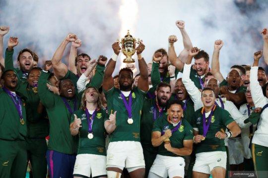 Afsel raih gelar juara Piala Dunia Rugby setelah taklukkan Inggris