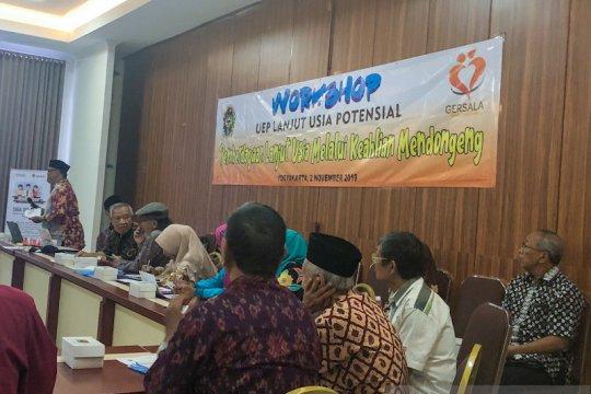 Yogyakarta berdayakan lansia dengan dilatih mendongeng