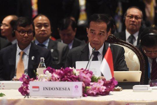 Presiden Joko Widodo menghadiri KTT ke-35 ASEAN di Bangkok, Thailand