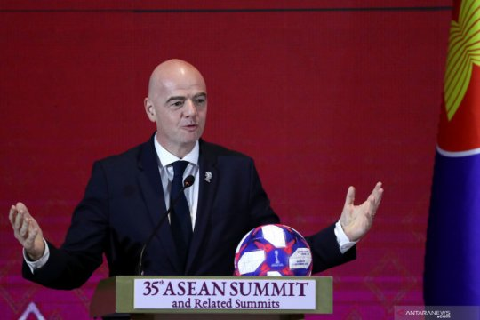 Presiden FIFA usulkan Piala Dunia Antarklub 2021 ditunda