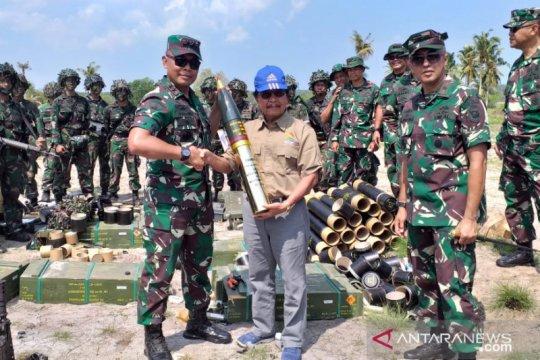 TNI AL latihan di Belitung, Wagub Babel beri apresiasi