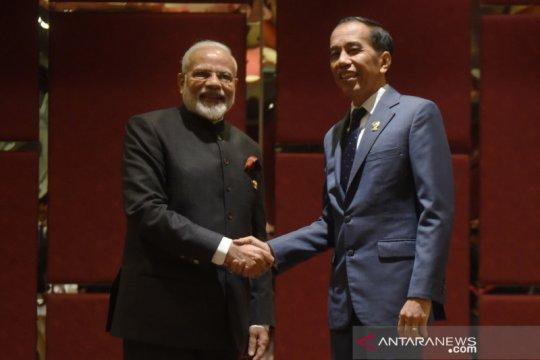 Bilateral Indonesia - India disela KTT ke-35 ASEAN