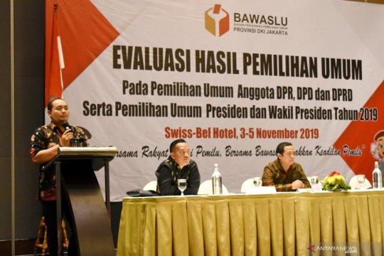 Bawaslu DKI Jakarta evaluasi hasil Pemilu 2019