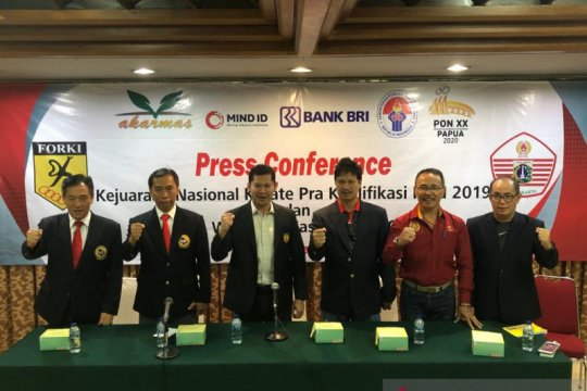 PB Forki gelar kejurnas Karate kualifikasi PON 2020