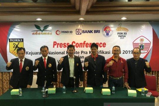 71 wasit terbaik diturunkan pada Kejurnas Karate Pra-PON 2019