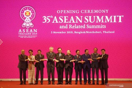 Presiden Jokowi dorong kolaborasi Indo-Pasifik dalam KTT ASEAN-RRT