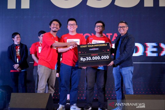 70 tim bersaing ketat di Final HackDay Toyota Fun/Code 2019