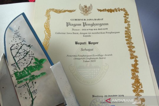 Pemkab Bogor borong penghargaan di Ecovillage Award 2019