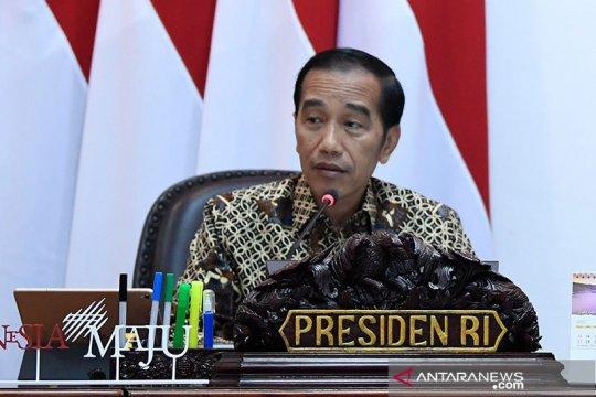 Cuitan @Jokowi di Twitter didominasi topik infrastruktur