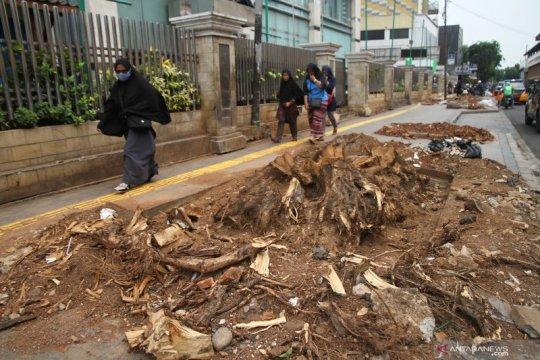 Bina Marga DKI: Revitalisasi trotoar berjalan meski anggaran dipangkas