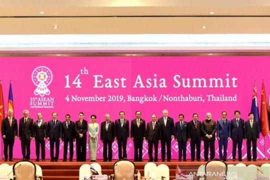 Jokowi apresiasi dukungan negara Asia Timur terhadap AOIP