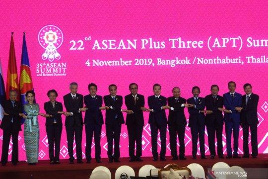 Presiden Jokowi hadiri KTT ASEAN Plus Three