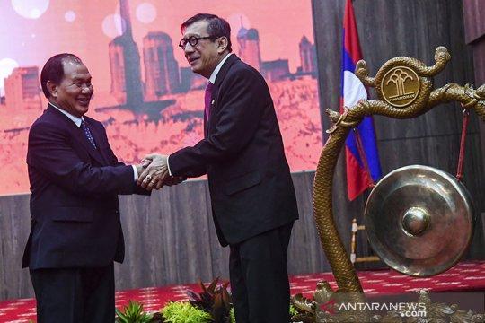 Bertemu Menteri Kehakiman Laos, Yasonna minta WNI tak dihukum mati