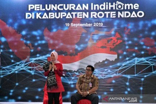 Telkom perluas layanan IndiHome hingga Indonesia timur