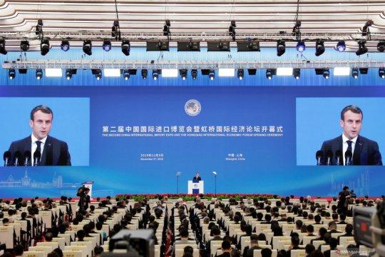 Macron-Xi sepakati kata 'irreversibility' dalam kesepakatan Paris