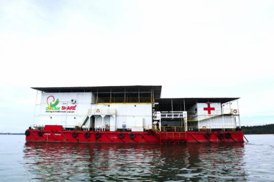 RS Apung Nusa Waluya II tangani 10 ribu pasien setahun