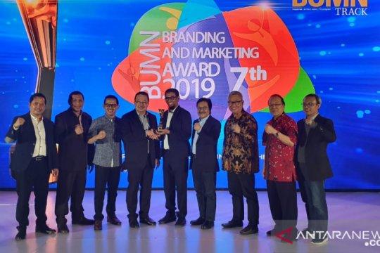 """Pelindo IV raih tiga """"BUMN Branding & Marketing Award 2019"""""""