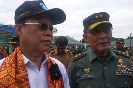Kemendikbud : prajurit TNI di perbatasan isi kekurangan guru