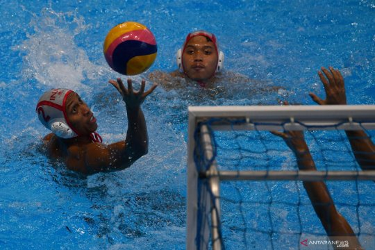 Tim polo air putra Indonesia menangi laga hidup-mati lawan Singapura
