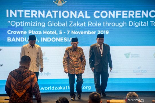 Wapres Ma'ruf Amin buka World Zakat Forum