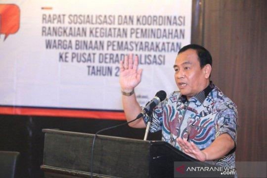 BNPT: Pemindahan Napi teroris ke Sentul agar jadi individu moderat