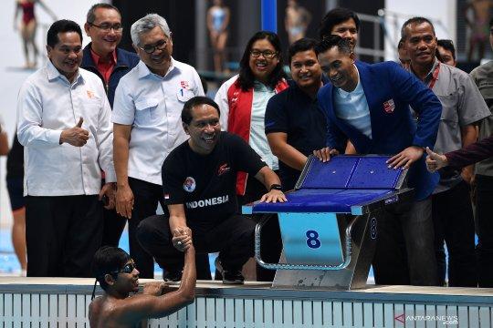 Menpora tinjau pelatnas renang SEA Games