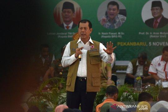 BNPB akan biayai mahasiswa UNRI sosialisasi pencegahan karhutla Riau