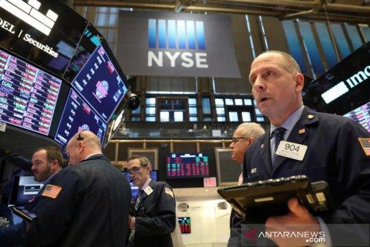 Wall Street anjlok, Ketua Fed peringatkan pelemahan ekonomi yang lama