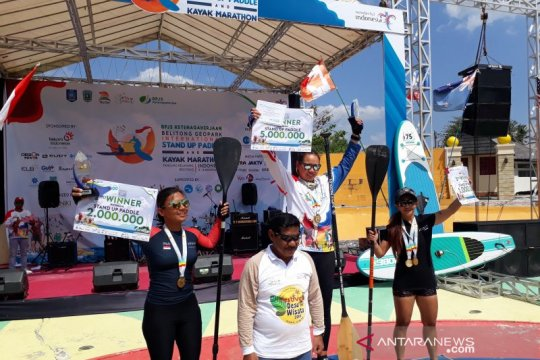 Atlet SUP Id-BPJAMSOSTEK raih perak di Singapore Open Cup 2019
