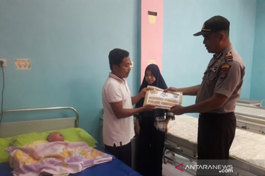 Bayi penderita penyakit kulit aneh dirawat di RSUD Nunukan