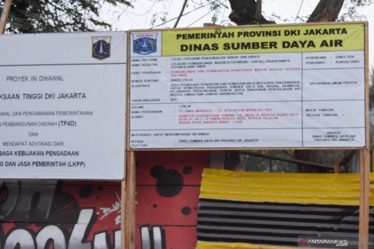 Dinas SDA tidak tampilkan anggaran di plang proyek Waduk Sunter