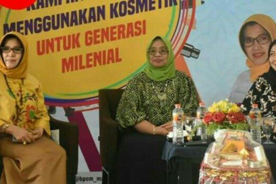 Cerdas gunakan kosmetik dikampanyekan BPOM di Sulawesi Barat