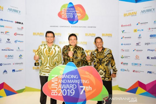 Rekind raih tiga penghargaan BUMN Branding & Marketing Award 2019