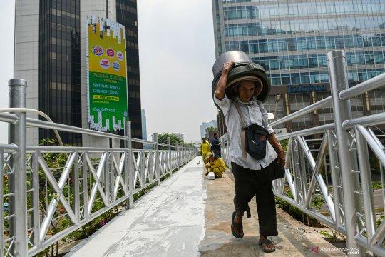 Pemprov klaim mayoritas masyarakat Jakarta setuju JPO terbuka