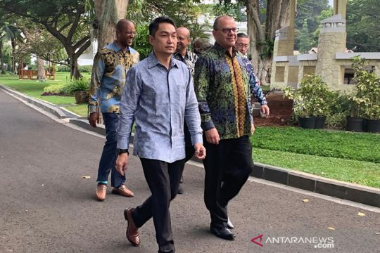 Jokowi menerima Mendag AS