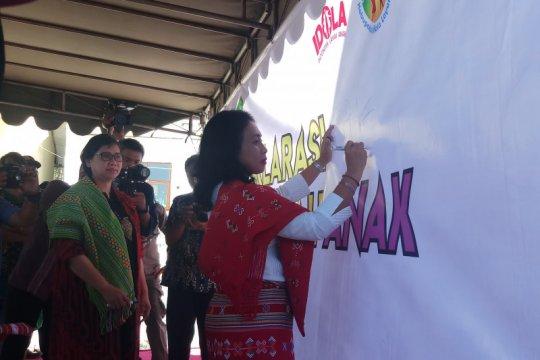 Menteri PPPA deklarasi sekolah ramah anak di Kabupaten TTS