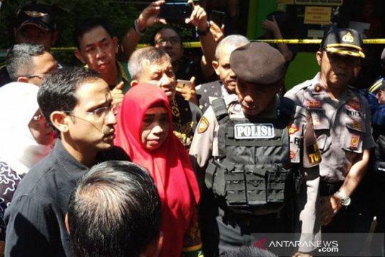 Mendikbud sempatkan takziah keluarga korban sekolah ambruk