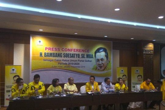 Timses Bamsoet nilai nada dukungan Presiden kepada Airlangga hal biasa