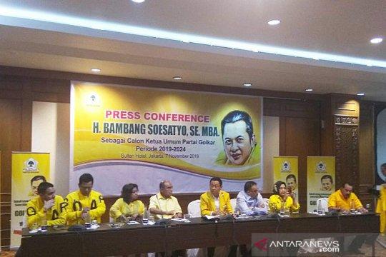 Timses pastikan Bamsoet tetap maju dalam Munas Golkar 2019