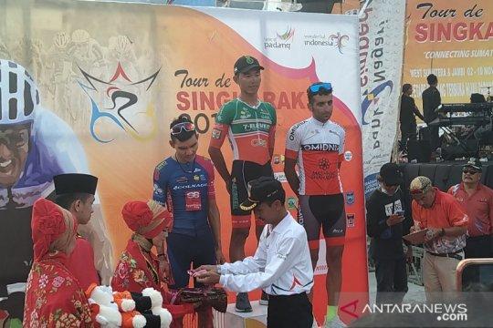 Rustom Lim tercepat di etape terpanjang TdS 2019