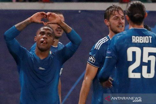 Liga Champions:  Gol injury time Douglas Costa menangkan Juventus atas Lokomotiv Moscow