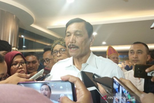 Luhut: audit BPKP selesaikan kisruh Garuda-Sriwijaya selesai seminggu