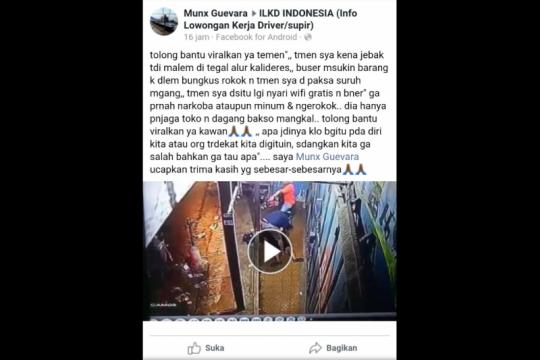 Penangkapan di video viral untuk memburu pengedar narkoba