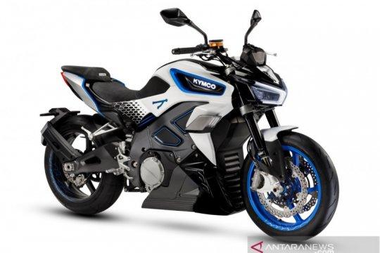 "Kymco RevoNEX, sepeda motor listrik bergaya ""street bike"""