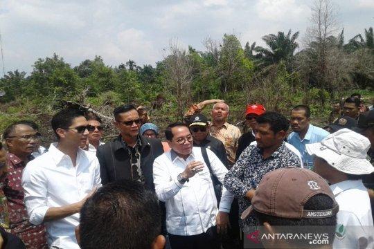 Komisi IV DPR RI tinjau lokasi karhutla Riau cari solusi permanen