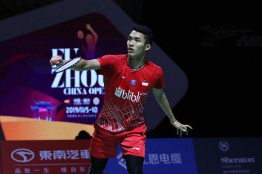 Empat wakil Indonesia lolos ke perempat final Fuzhou China Open 2019