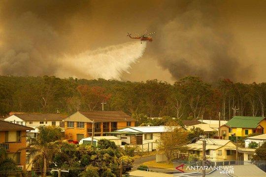 Kebakaran-hutan baru berkobar di Australia